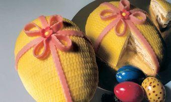 Ananas-Buttercreme-Eier
