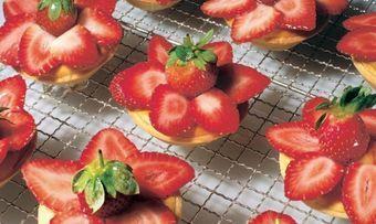 Erdbeer-Orangentörtchen