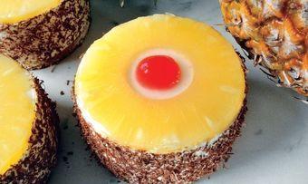 Ananas-Sahnecremetörtchen