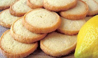Zitronen-Sandgebäck