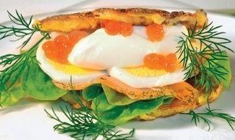 Rösti-Lachs-Burger