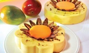 Mango-Sahneblüten