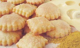 Curry-Buttergebäck