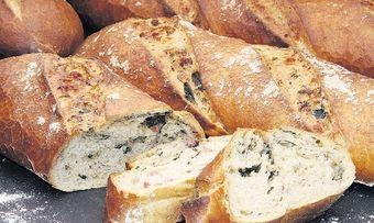 Käse-Spinat-Stangen