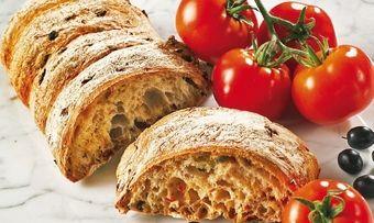 Oliven-Tomatenbrot