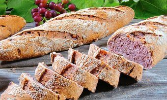 Rotwein-Baguettes