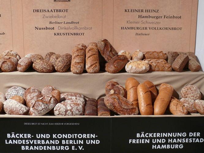 Brotspezialitäten aus Berlin/Brandenburg und Hamburg.