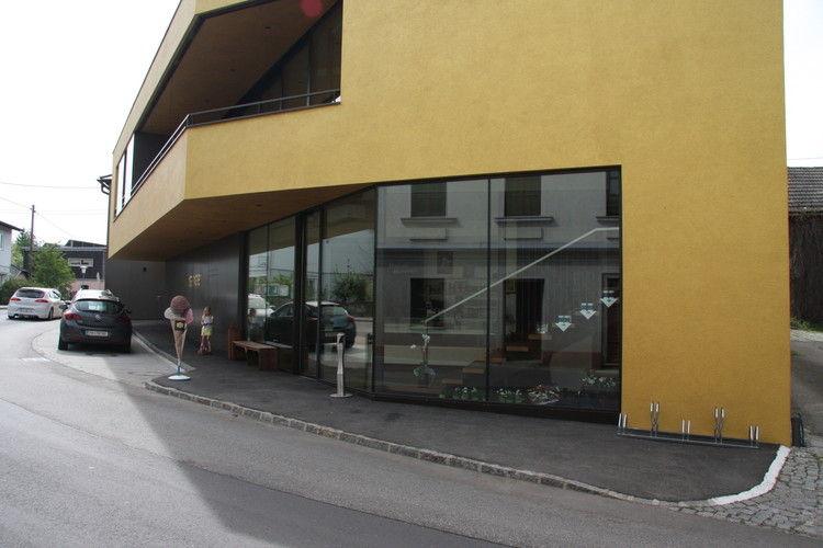 Die Fassade ist einzigartig in der Region und sorgt für Gesprächsstoff.