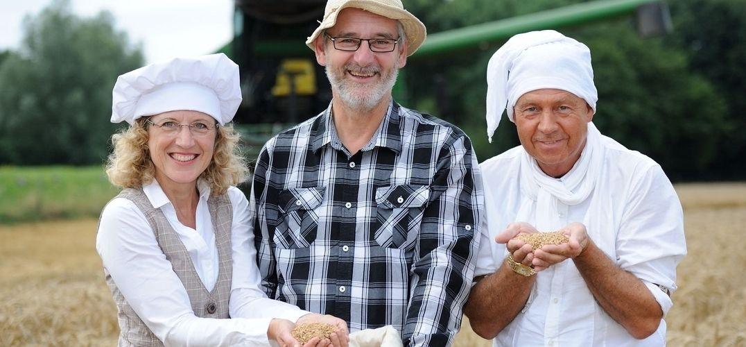 Gutes Team (von links): Claudia Siegmund, Christian Lohmar und Klaus Bünder von Mills United.