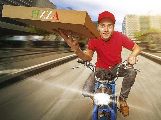 Werden Bestellsysteme noch einfacher zu bedienen, wird der Pizza-Lieferdienst einer von vielen.