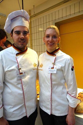 Das deutsche Team (von links): Stavros Evangelou und Tanja Angstenberger.