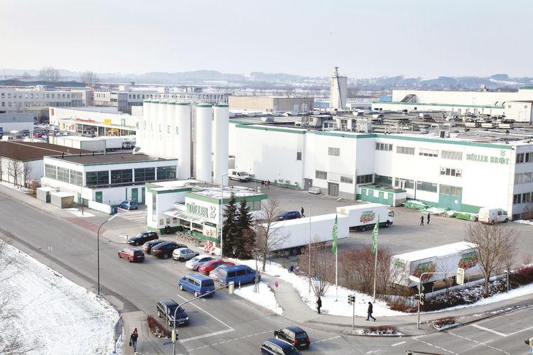 Die Produktionsstätte von Müller-Brot in Neufahrn bei München ist seit der Insolvenz 2012 stillgelegt.