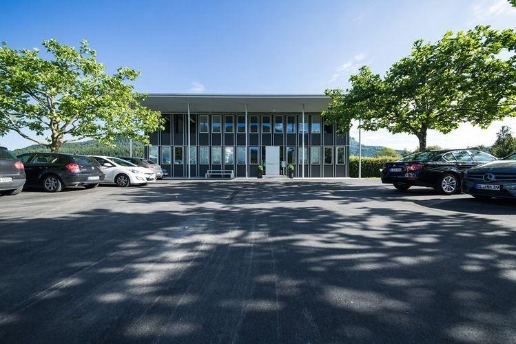 Der Firmensitz von CompData in Albstadt.