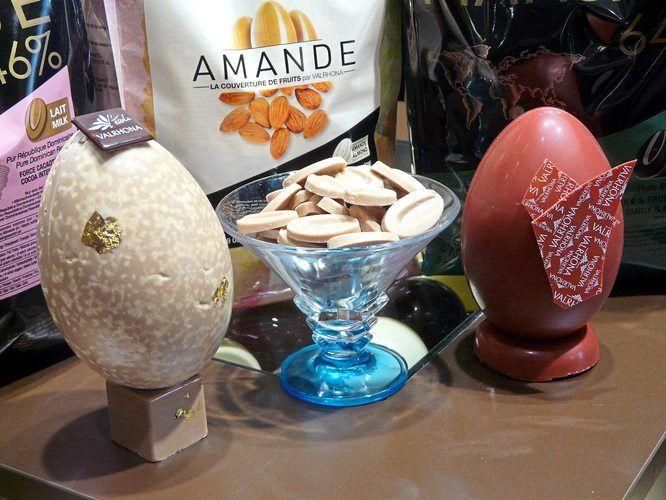 Kakaobutter plus Frucht: Fruchtkuvertüren von Valrhona.
