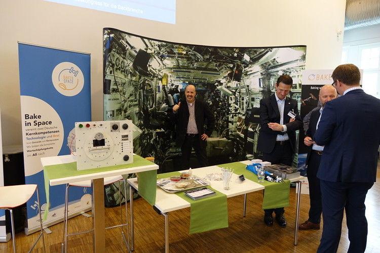 Auf der Expo zum Kongress steht auch das Weltraum-Projekt
