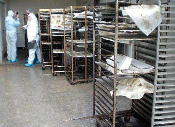 Lebensmittelkontrolleure beanstandeten eine Paderborner Großbäckerei.