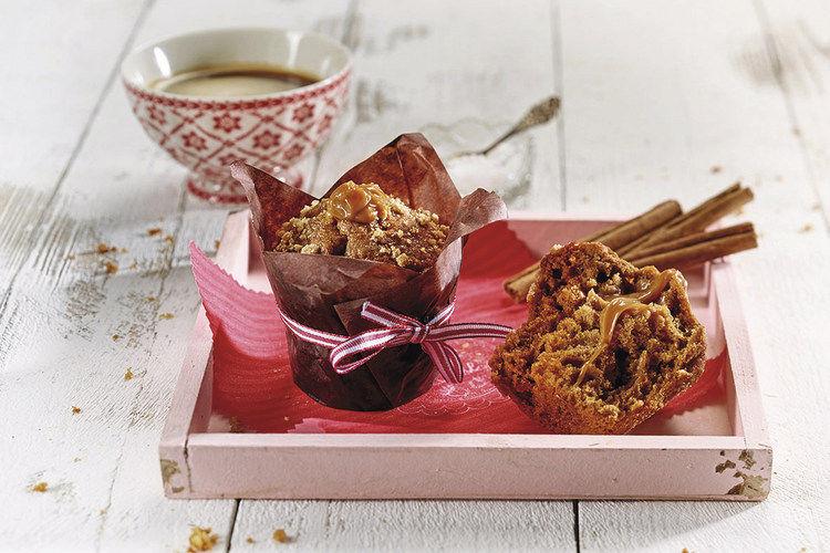 Muffins mit Spekulatius