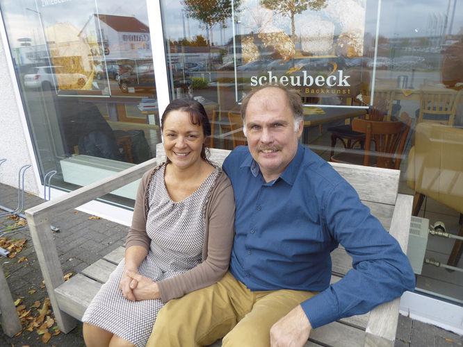 Starkes Team: Elke und Jürgen Friedrich Scheubeck.