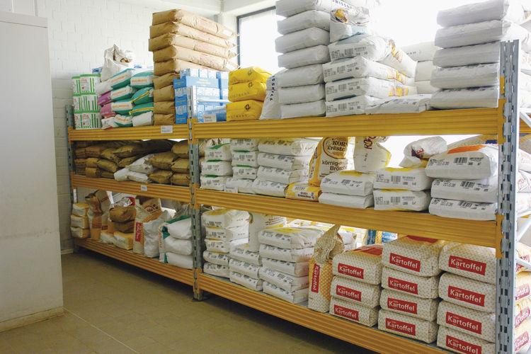 Einmal jährlich zählen ist Pflicht, um den tatsächlichen Warenverbrauch festzustellen.
