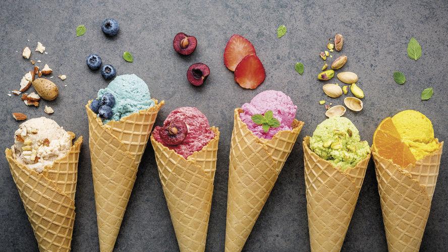 Gutes Speiseeis kaufen Verbraucher auch beim Bäcker – und nicht nur von der italienischen Eisdiele.