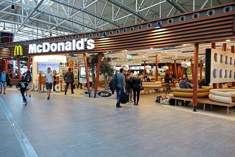 Komfortables Bestellen und Bezahlen mit der McDonald's App.