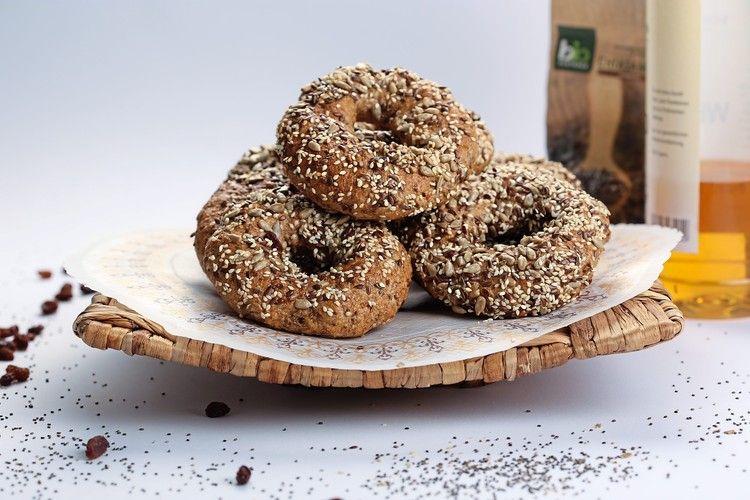 Dinkel-Chia-Bagel: Gebäcke aus Urgetreide bieten in Kombination mit Superfood Potenzial bei gesundheitsbewussten Verbrauchern.