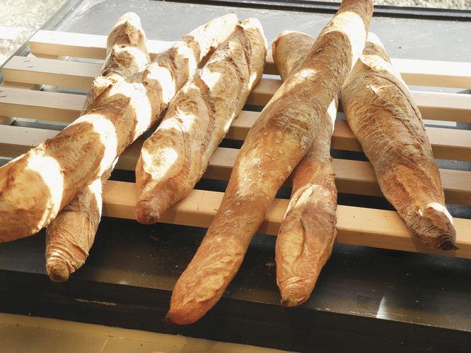 Mit im Sortiment: Französische Baguettes