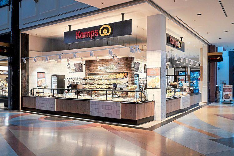 Kamps Bäckerei im Berliner Einkaufszentrum Alexa am Alexanderplatz.