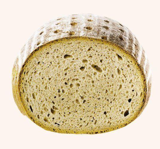 <em>Eine zu runde Brotform weist in erster Linie auf Fehler rund ums</em> <em>Abbacken hin.<cmd Name=