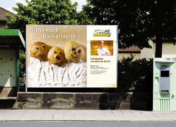 Auch Plakate für Plakatwände können individuell gestaltet werden.