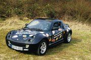 Diesen Smart Roadster Cabrio dürfen die zwei besten Azubis des Rheinlands für jeweils eine Woche fahren.