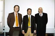 Die Fachleute mit ihren Vorträgen waren (von links) Hermann Post, Walter Dohr und Wilfried Robertz.