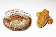 """Das neue Brot Rustica und die neuen Brötchen, die während der Messe """"aktivvita"""" vorgestellt wurden."""