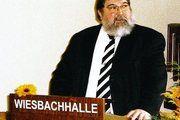 Obermeister und Landesinnungsmeister Roland Schaefer.
