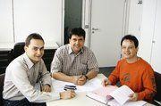 Das AT-Service-Team (v.l.): Holger Schmidt, Michael Strecker und Wolfgang Lauer.