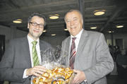 Frieder Pommerencke (rechts) mit dem CDU-Landtagsfraktionsvorsitzenden von Baden-Württemberg, Peter Hauk.