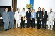 Gruppenbild derer, die im Auftrag des Bundesverbandes geehrt wurden.