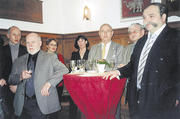 Zum Neujahrsempfang der Bäckerinnung Freiburg kamen auch Gäste aus Hamburg, unter ihnen Hartmut Körner, Bundeschorleiter der Bäckersänger.