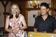 Theo Pfeifer, der Obermeister der Bäckerinnung Miltenberg würdigte die Leistung von der Verkaufsleiterin Daniela Siebenlist.