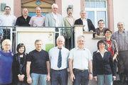Vor der Fusion: Mitglieder und Gäste der Bäckerinnung Wolfach beim letzten Gruppenbild als eigenständige Innung.