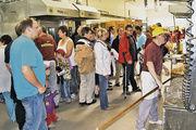 Ein voller Erfolg: Mit Backstubenführungen und vielen anderen Attraktionen lockte die Geißlinger Bäckerei Bopp tausende Besucher auf ihr Brotfest.