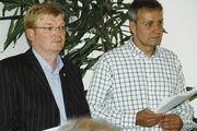 Im Duett: Die beiden Obermeister der Bäckerinnung Hameln-Pyrmont, Wilhelm Bente und Thomas Wegener (von links).