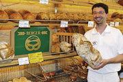 Hubert Berger, Inhaber der gleichnamigen Bio-Vollkorn Bäckerei, kann mit den Ergebnissen seiner Kundenumfrage zufrieden sein.