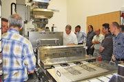 Vor Ort wurde die Brötchenherstellung mit der Rheon V4 als Kopfmaschine und dem nachgelagerten Tellerrundwirker demonstriert.