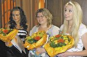 Die besten Bäckerei-Fachverkäuferinnen der Innung (von links): Norma Nerret, Ann-Kathrin Boersch und Stephanie Oestreich.