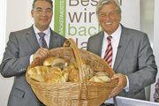 Stehen für Qualitätsprodukte aus dem Bäckerhandwerk: ZV-Präsident Peter Becker (rechts) und ZV-Hauptgeschäftsführer Amin Werner.