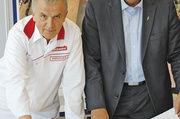 Eigentümer Peter Augendopler (l.) und Geschäftsführer Harald Deller.