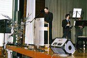 Hartmut Bauer, erster Vorsitzender der CBVK Stuttgart, kam in seinen Begrüßungsworten