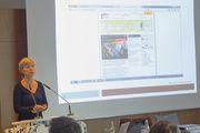 Susanne Maus vom Zentralverband des Bäckerhandwerks legte den Bäckern die aktive Teilnahme an den Image- und Nachwuchskampagnen der Werbegemeinschaft nahe.