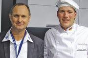 Stephan Bockmeier (rechts) mit Moderator Klaus Schweiger.